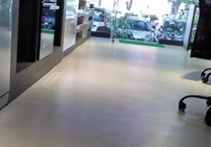 Kaff - White Laminate Flooring