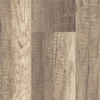 Rustic Oak 2 Strips Wooden Flooring, Reclaimed Barnwood 8mm Laminate Flooring