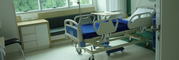 Columbia Asia Hospital - Antibacterial PVC Floors