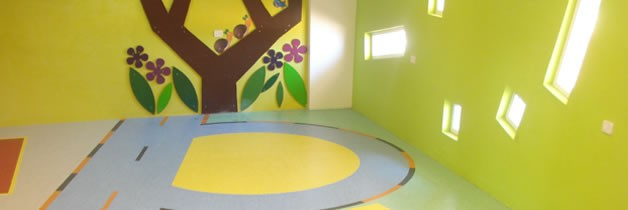 Edify School - IQ Optima Vinyl Floors