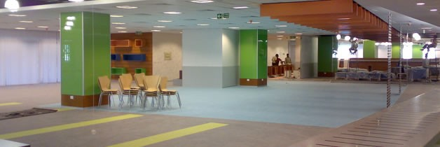 UBS - Heterogeneous Office Vinyl Floors
