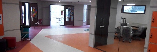 Calcutta Business School - Homogeneous College Vinyl Floors