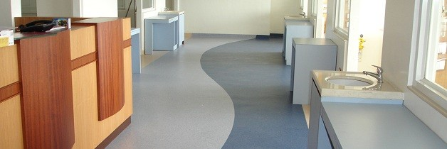 Fortis Hospital - Anti Fungal PVC Vinyl Floors