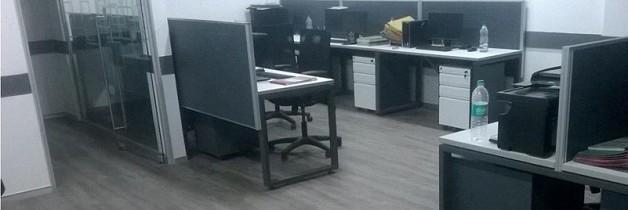 Vision Export Office Vinyl Tile Flooring Case Study, Delhi