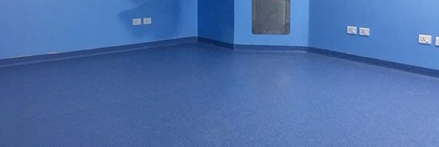 AIIMS Hospital Vinyl Wood Floors