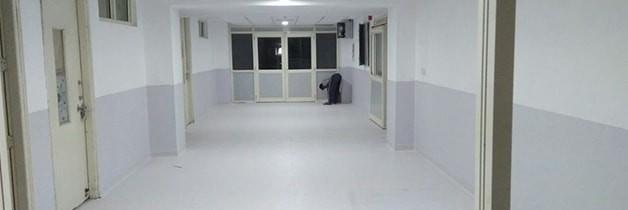 SM Indresh Hospital Vinyl Wood Flooring