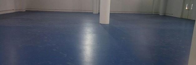 Heterogeneous Vinyl Sports Floor