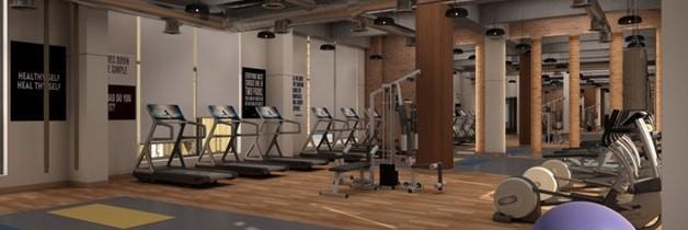 Heterogeneous Vinyl Sports Flooring