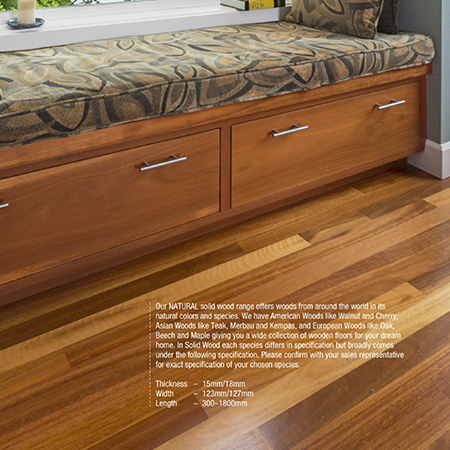 Buy Natural Solid Wood Flooring In India Square Foot