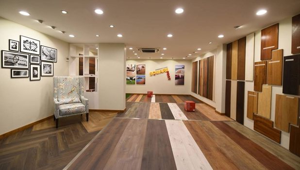 Square Foot Ahmedabad Store Get Wooden Vinyl And