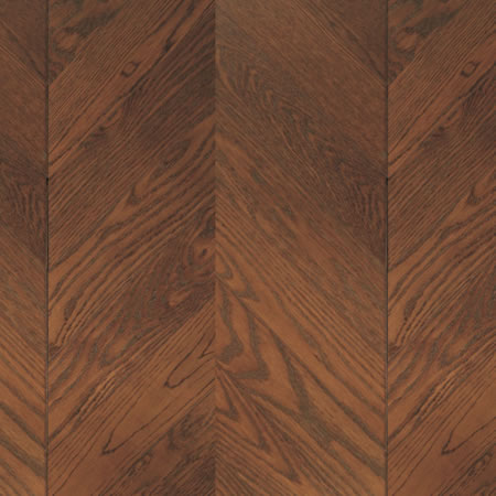 Chevron Oak Cinnamon Engineered Wood Floors By Square