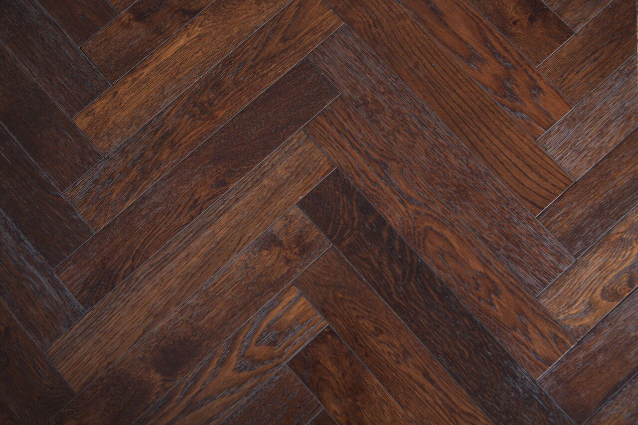 Herringbone Oak Wheat Solid Wood Floors By Square Foot